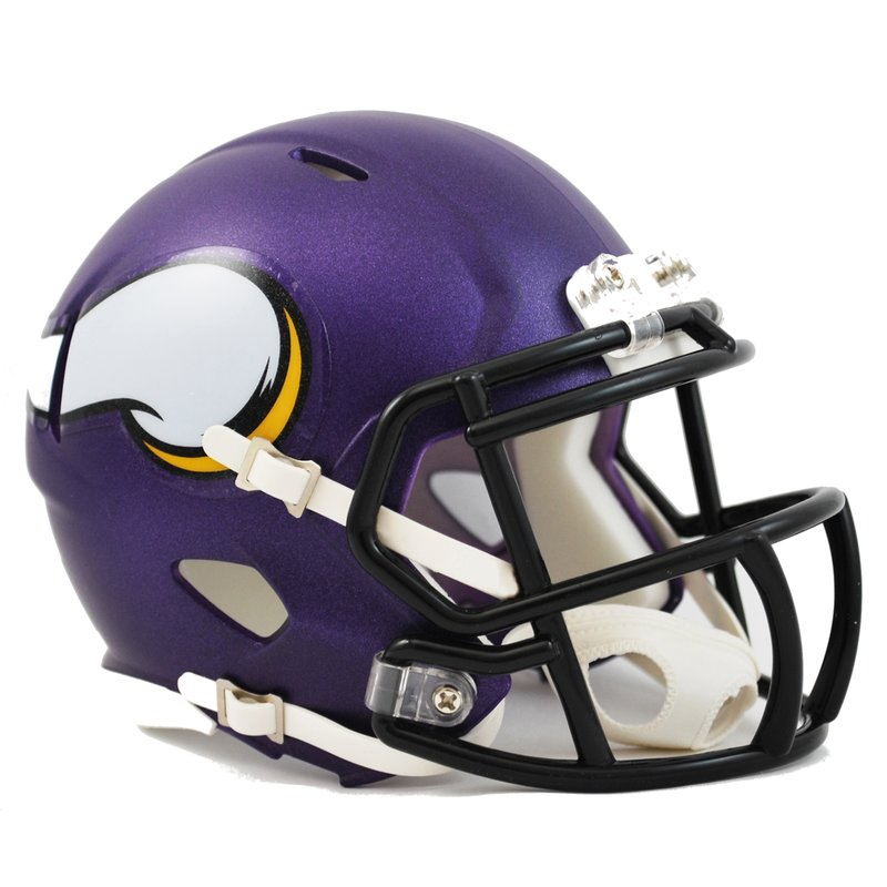 NFL Minnesota Vikings Mini Helm SPEED ca 13cm