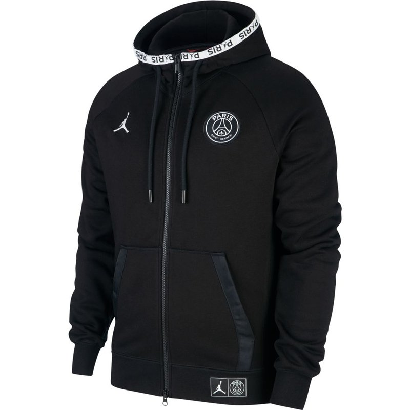 Nike Jordan Paris Saint-Germain Black Cat Hoodie schwarz