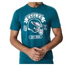 New Era T-Shirt Graphic Philadelphia Eagles blau