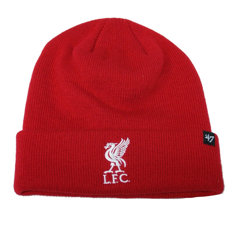 47 brand EPL Liverpool FC Raised Cuff Knit Beanie rot
