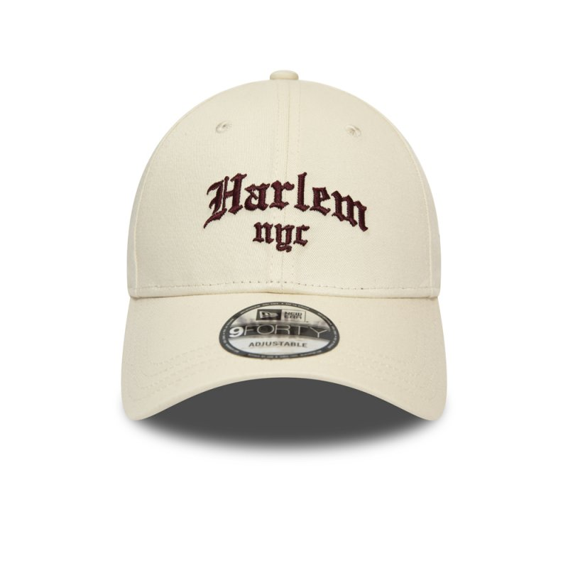 New Era 9FORTY Cap NYC Harlem beige