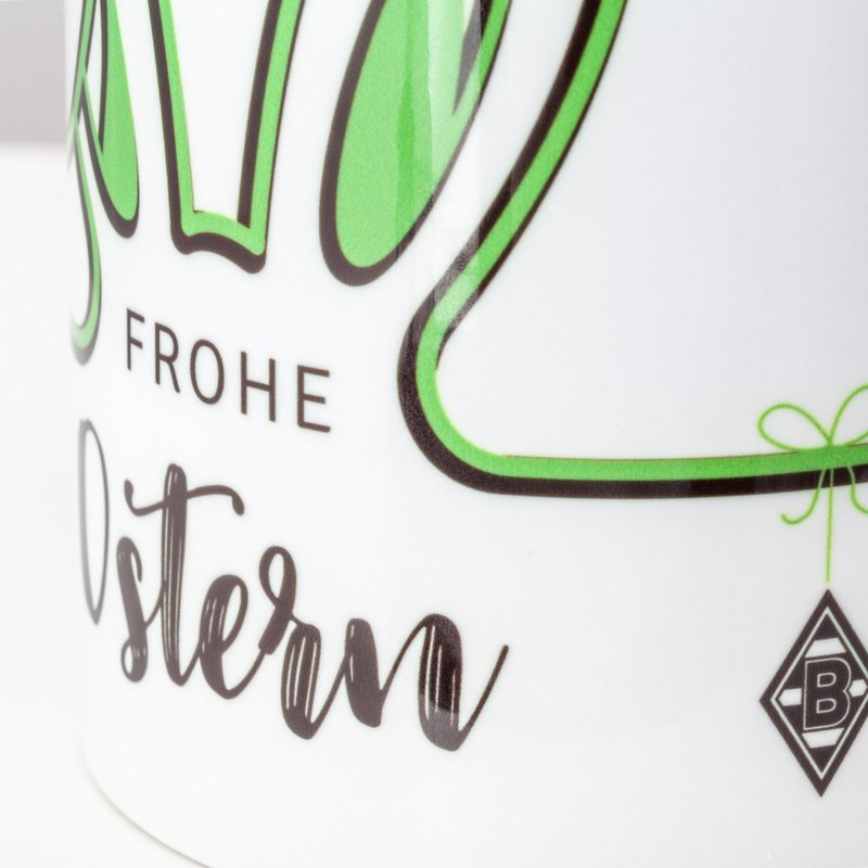 "Borussia Mönchengladbach Tasse /""Ostern/"""