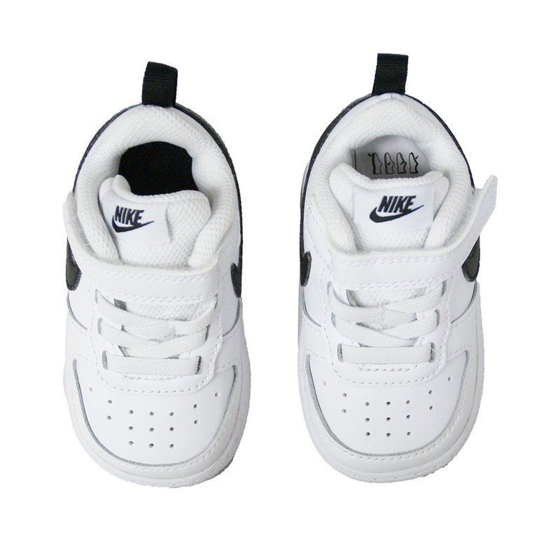 Nike Kinder Schuh Court Borough Low 2 white/black (TDV)