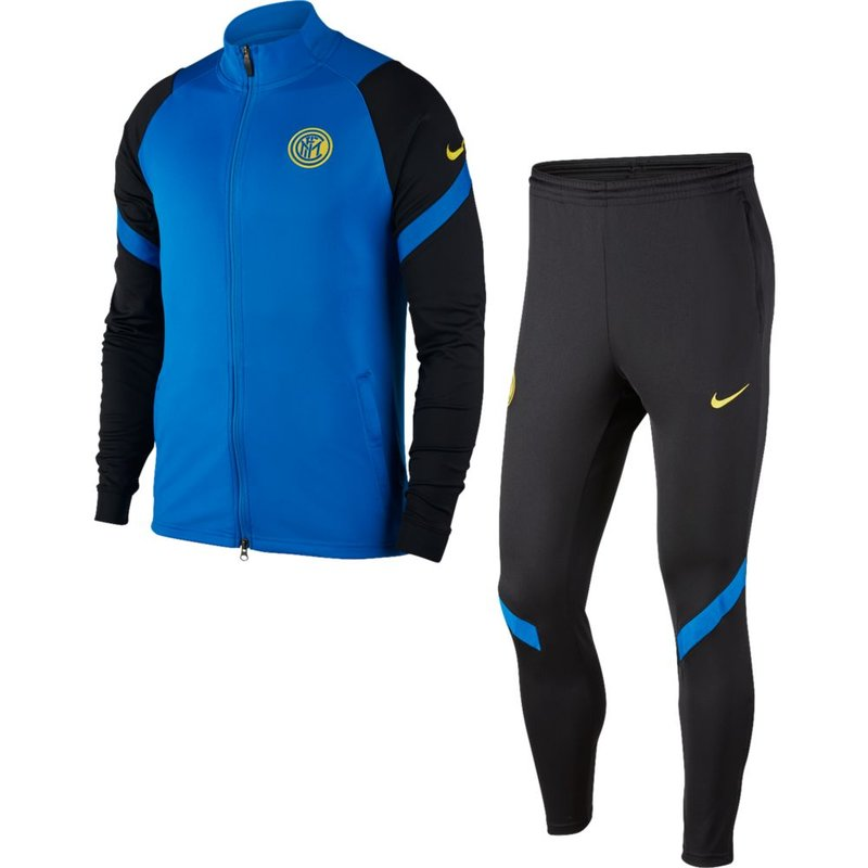 Nike Dri-FIT Inter Mailand Strike Trainingsanzug blue spark/black/tour yellow