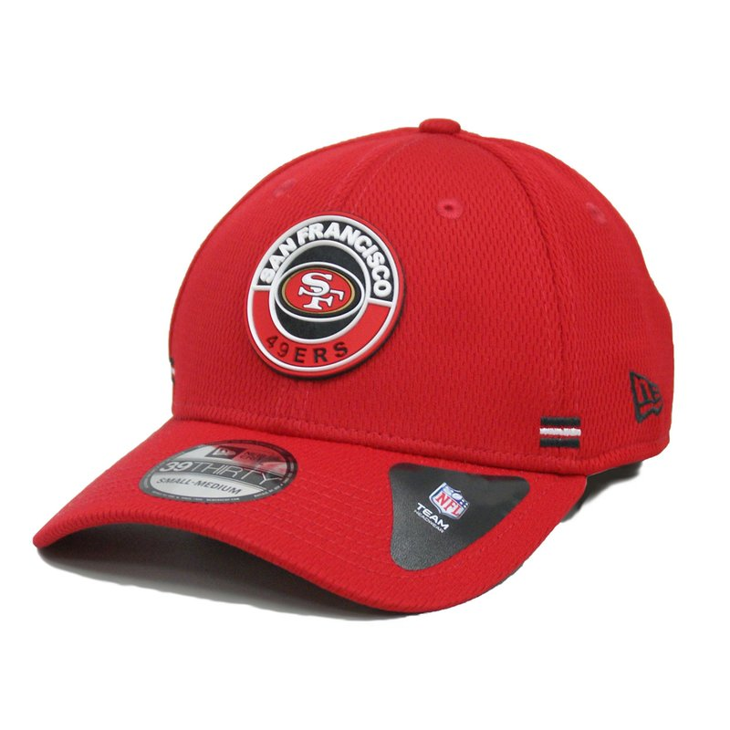 New Era 39THIRTY Cap NFL 2020 Onfield Sideline Road Alternative San Francisco 49ers rot