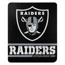 Las Vegas Raiders Fleece Decke Split Wide