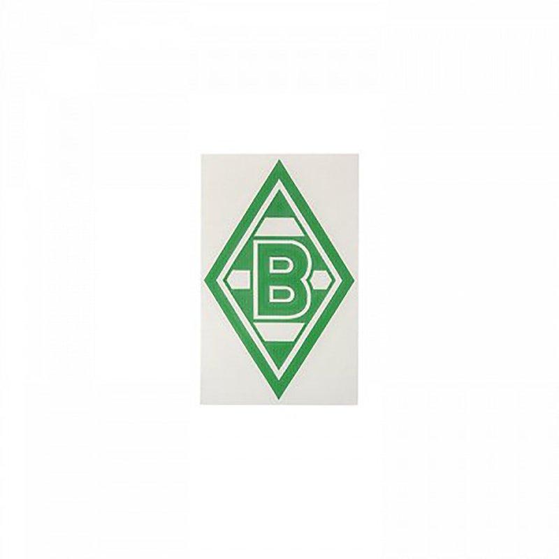 borussia m nchengladbach aufkleber logo gr n 2 99. Black Bedroom Furniture Sets. Home Design Ideas
