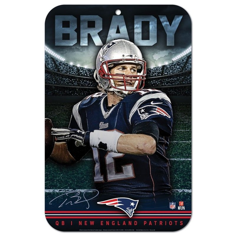 Tom Brady New England Patriots Spielerschild | NFL
