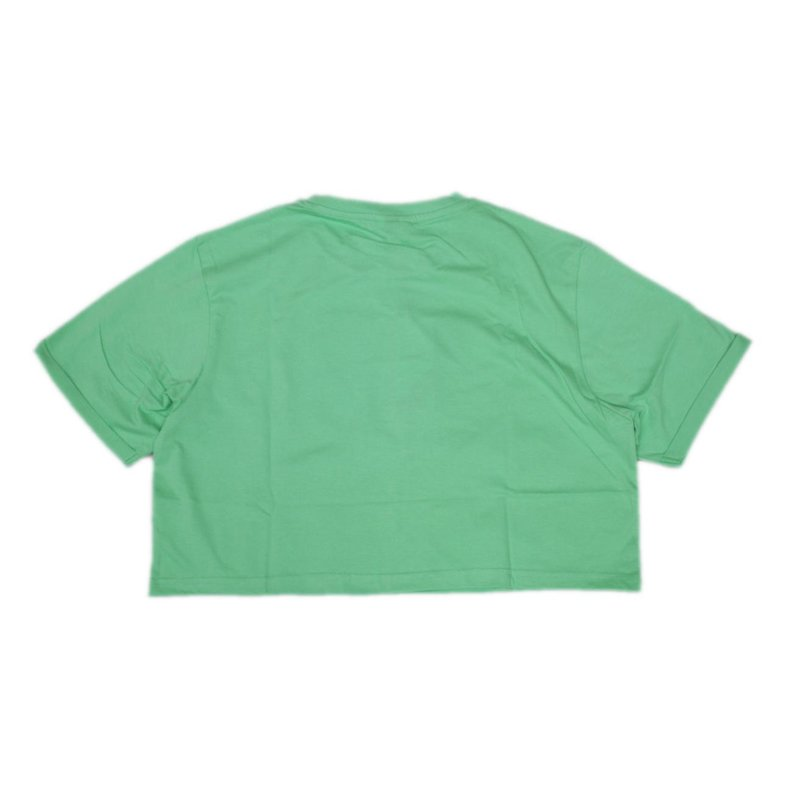 ellesse Damen Crop T-Shirt Alberta grass green