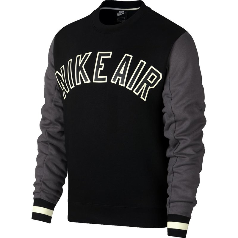Nike Crewneck Sweater Nike Air black/dark grey